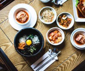 Korean diet Stock Photo 01
