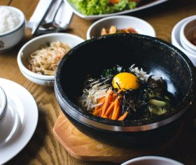 Korean diet Stock Photo 04