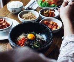 Korean diet Stock Photo 06