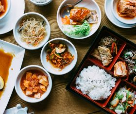 Korean diet Stock Photo 07