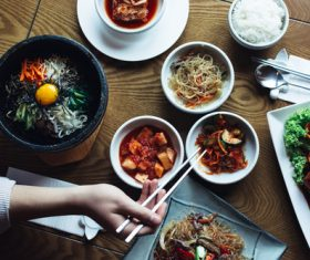 Korean diet Stock Photo 09