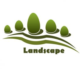Landscape logos design vector 01