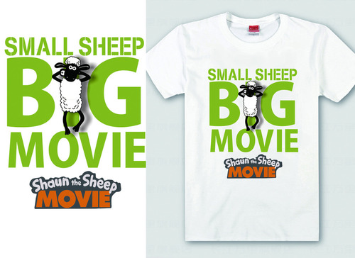 Little sheep shawn vector