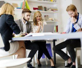 Market business development team Stock Photo 04
