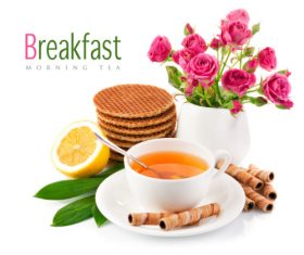 Morning Tea vector template (6)