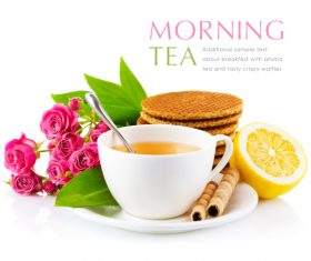 Morning Tea vector template (7)