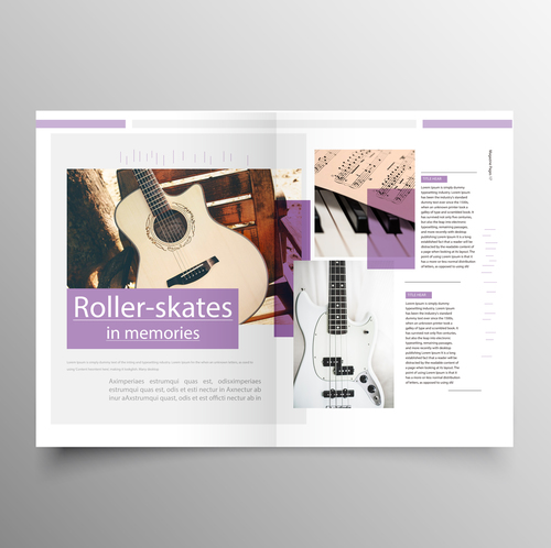 music brochure templates - great music brochure templates pictures retro music