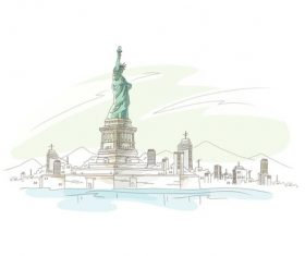 New York Cityscape vector