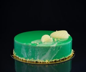 Pretty Art cake Stock Photo 02