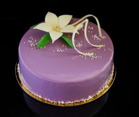 Pretty Art cake Stock Photo 03