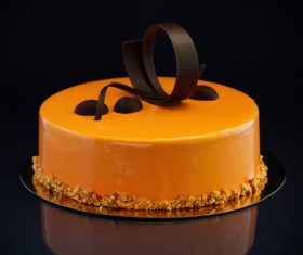 Pretty Art cake Stock Photo 05
