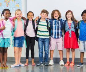 Primary school student Stock Photo