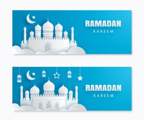 Ramadan big sale banner design vector 04