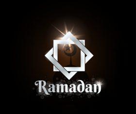 Ramadan logo design vectors 03