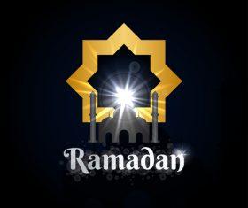 Ramadan logo design vectors 04