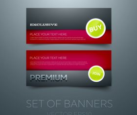 Red gift vouchers template vector 05
