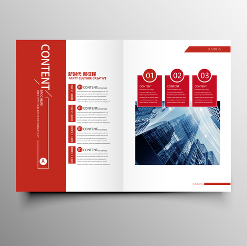 Red styles business brochure template vector 04 free download red styles business brochure template vector 04 flashek Gallery