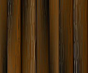 Retro wooden board texture background vectors