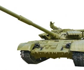 Russian vintage tank Stock Photo 01