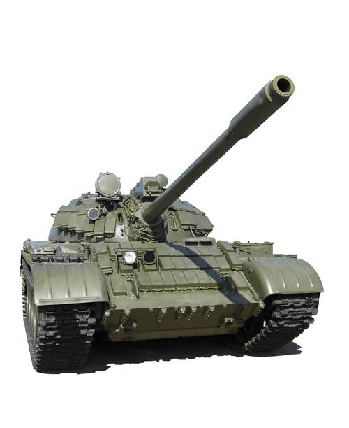 Russian vintage tank Stock Photo 02