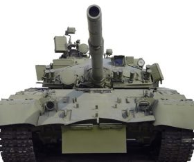 Russian vintage tank Stock Photo 03