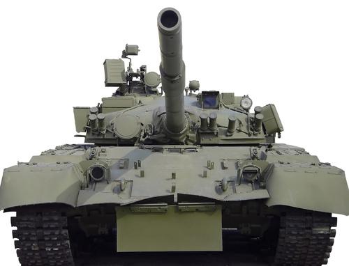 Russian vintage tank Stock Photo 03