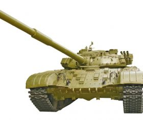 Russian vintage tank Stock Photo 04