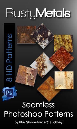 Rusty Metal Photoshop Patterns