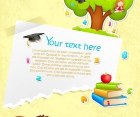 School poster vector