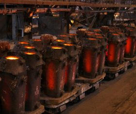 Smelter Stock Photo 03