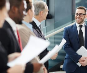 Smiling CEO Stock Photo