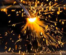 Steel making Stock Photo