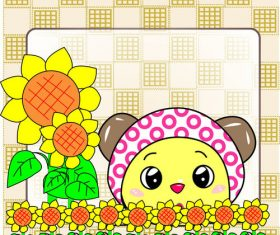 Sunny Garden vector