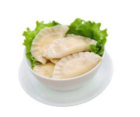 Ukrainian delicacies Vareniki Stock Photo 02