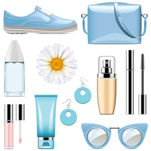 Vector Fashion Accessories Set 1
