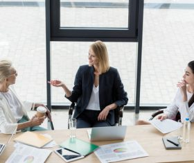 Woman business consulting Stock Photo