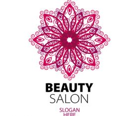 beauty salon logos design vector 04