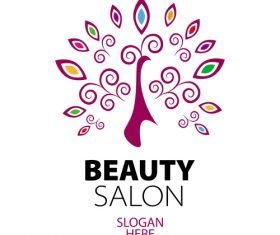 beauty salon logos design vector 05