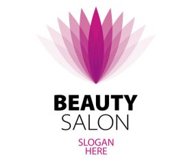 beauty salon logos design vector 06