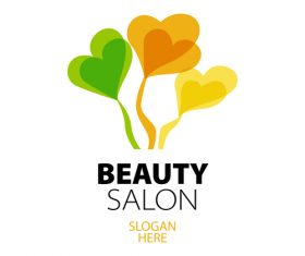 beauty salon logos design vector 07