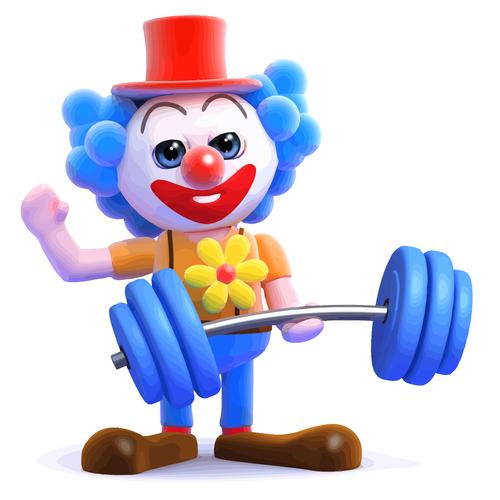 clown horn cartoon vector 02