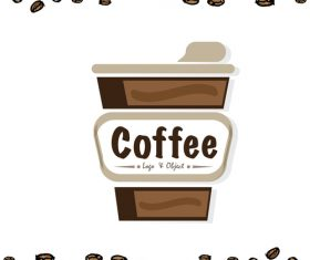 coffee logo design creative vector 02