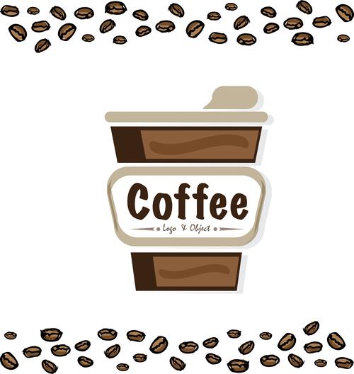 coffee logo design creative vector 02