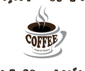 coffee logo design creative vector 03