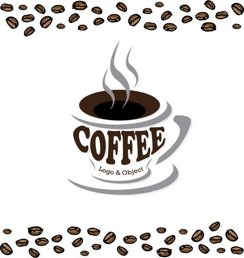 coffee logo design creative vector 03