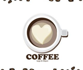 coffee logo design creative vector 04