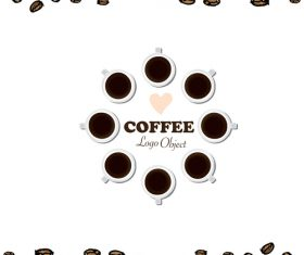coffee logo design creative vector 05