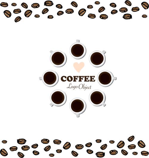 coffee logo design creative vector 05