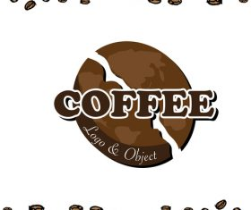 coffee logo design creative vector 06