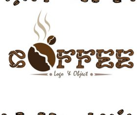 coffee logo design creative vector 07